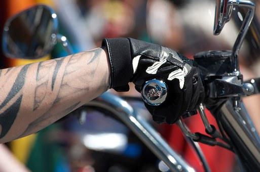 wygodne rękawice motocyklowe