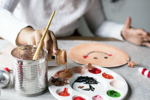 artystyczne warsztaty bożonarodzeniowe w przedszkolu