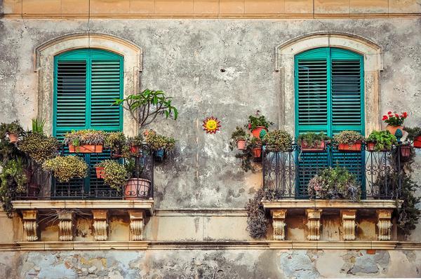 nowoczesne donice balkonowe