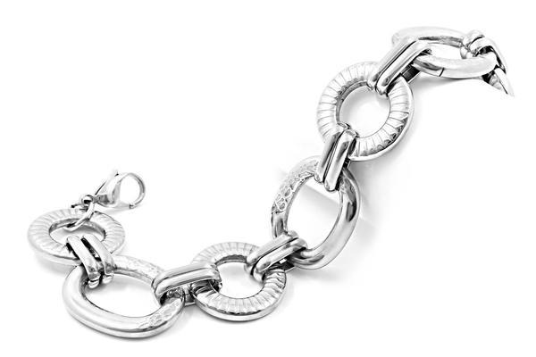 srebrne łańcuszki męskie