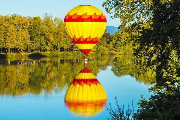 loty widokowe balonem mazury