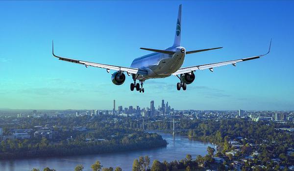 transport lotniczy z usa